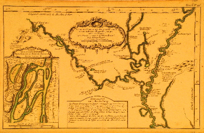 Bellin Mississippi River 1764.