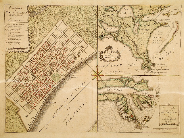 Tirion New Orleans 1769.