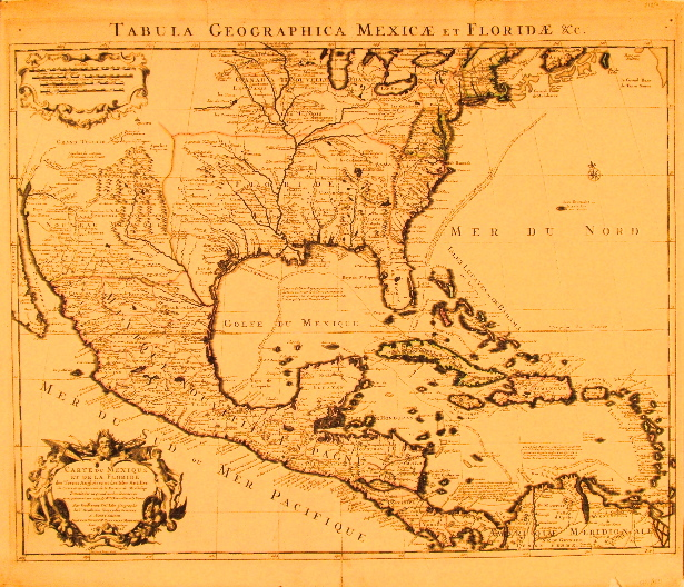 De L'Isle North America 1722.