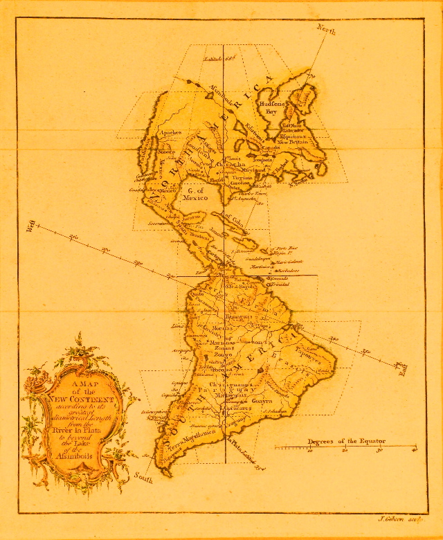 Bowen North America 1760.
