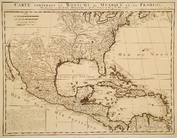 Chatelain North America 1719.