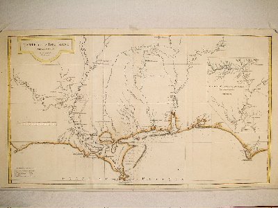 D'Anville Louisiana 1732.