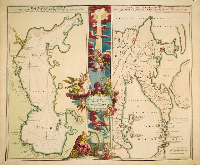 Homann Curious Map 1720.