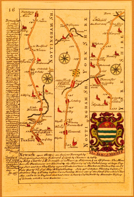 Bowen English Road Maps 1720.
