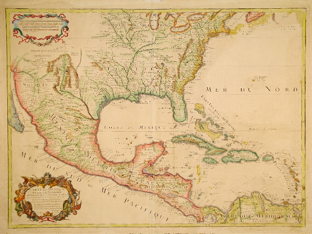 De L'Isle North America 1703.