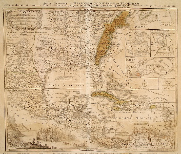 Lotter North America 1757.